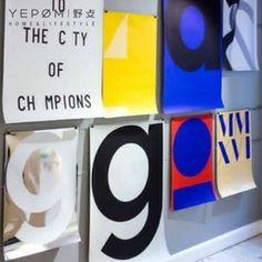 """דנית המותג Playtype אותנטי אישור """"Macrography"""" ציור דקורטיבי סדרה 50 X 70cm"""