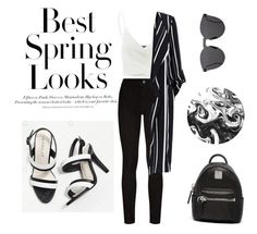 """Untitled #77"" by guadamansilla on Polyvore featuring H&M, Paige Denim, Doublju, Illesteva and MCM"