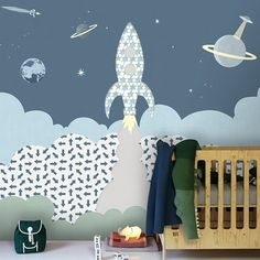Inke, Imagination on Your Walls / #kidsroom #kidsroomdecor #wallpaper #wallpapers