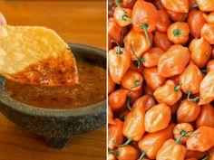 Atrévete a probar estas 10 recetas de salsas con chile habanero. ¡Solo para valientes! Hot Salsa Recipes, Mexican Salsa Recipes, Salsa De Habaneros, Habanero Salsa, Actifry Recipes, Tasty Kitchen, Easy Healthy Recipes, No Cook Meals, Food To Make