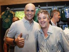 Marcos e Paulo Nobre em A Tribuna  © Ale Frata/Frame/Folhapress