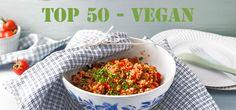 Von Blätterteig-Taschen über vegane Paella bis hin zu Kürbis-Spaghetti und Kartoffelstrudel - 50 vegane Hauptgerichte / Chefkoch.de