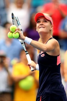 Agnieszka Radwanska 1st round on Day One of the 2013 US Open August 26-2013 #WTA #Radwanska #USOpen