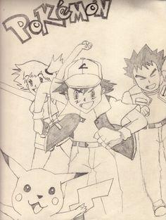 Pokemon - JLR Drawing
