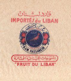 papier fruit Liban