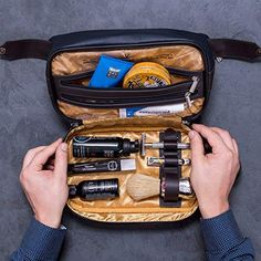 Among The Best Birthday Gifts For Leo Man Is This Stylish And Sturdily Built Dopp Kit