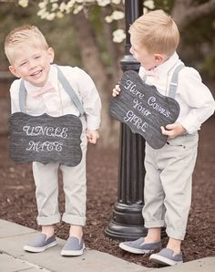 42 Trendy wedding signs for kids to carry ring bearer outfit Wedding Reception Outfit, Wedding Attire, School Reception, Wedding Ceremony, Ceremony Signs, Wedding Bridesmaids, Bridesmaid Ideas, Trendy Wedding, Perfect Wedding