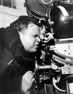 Orson Welles on the set of 'Touch of Evil', Dramas, Dark Portrait, Fritz Lang, Cinema, Jean Luc Godard, Old Movie Stars, Orson Welles, Great Films, Film Director