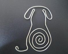 Segnalibro cane filo