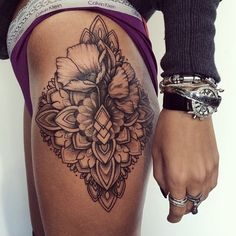 I like the combination of flowers plus geometric-type designs Follow: @hausofstyles!
