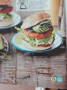 Salmon Burgers, Hamburger, Chicken, Ethnic Recipes, Food, Essen, Burgers, Meals, Yemek