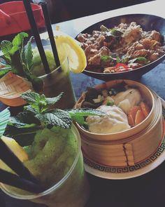 Coconut curry chicken dim sim and lemonades  #Thaifood #lorne #greatoceanroad by elisewosahla
