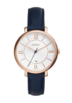 Fossil JAQUELINE - Zegarek - blau za 398,65 zł (19.05.17) zamów bezpłatnie na Zalando.pl.