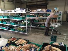 """The UK's first food waste supermarket has opened in Pudsey, near Leeds. Food waste campaigners from the Real Junk Food Project have opened """"the warehouse"""", a store on the Grangefield Industrial Estate. Customers are invited to shop for food..."""