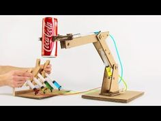 LIFTING JACK - ENGLISH - Hydraulic Jack! from Ice Cream Sticks - YouTube