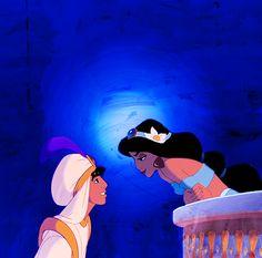 jasmine and aladdin love