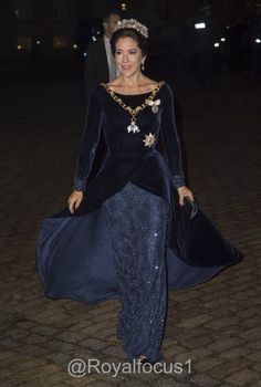 Crown Princess Mary attends a New Years Day reception at Amalienborg Palace