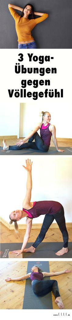 Yogalehrerin Gabriela Bozic von Jivamukti Yoga hat uns ihre Tricks für einen flachen Bauch trotz Festtagsmenüs verraten...