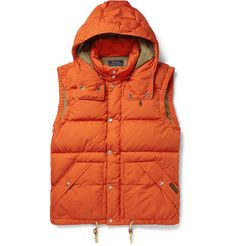 Polo Ralph Lauren - Elmwood Down-Filled Quilted Hooded Gilet | MR PORTER