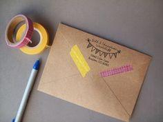 Return Address Stamp - twohappymamas