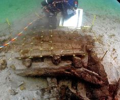 Possible Spanish Armada wreck found off Irish coast.  Donegal, Ireland.