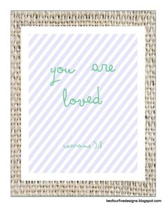 Scripture Art Scripture Printable Bible by TwoFourFiveDesigns, $5.00