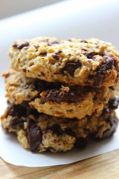 Hafif Mutfak: Bitter Çikolatalı Yulaflı Kurabiye