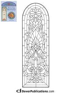 ★ Stained Glass Patterns for FREE ★ glass pattern 102 ★
