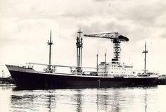 19 februari 1965 Het vrachtschip ms 'Sophocles' (1963) van de KNSM,  op weg van Puerto Limon naar Amsterdam,   http://koopvaardij.blogspot.nl/2015/02/19-februari-1965.html