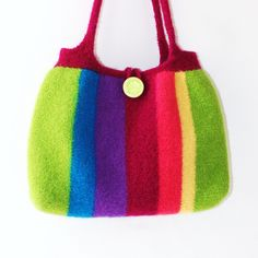 Tropical Crush Felted Bag