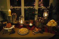 Lumberjack party = inspiration for my next Christmas party.