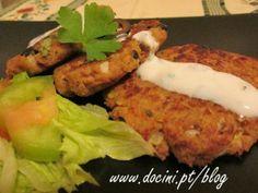 Hambúrgueres de Atum e Azeitonas
