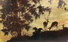 Laque-Indochine-Thanh-le-1960-vietnam-lacquer-painting-panneau-tableau-panel
