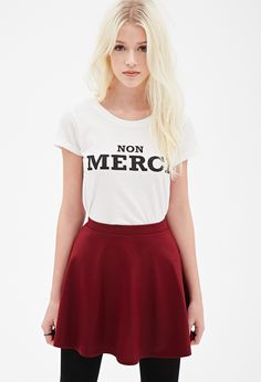 Non Merci Graphic Tee | FOREVER21 - 2000082319