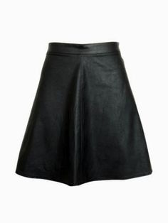 faux leather skirt. :)