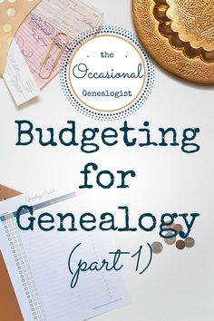 Do you love genealogy but only get to research occasionally? You're an Occasional Genealogist. This blog is for you!