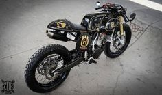 Husqvarna TE 510 Cafe Racer by ZDR Custom #motorcycles #caferacer #motos | caferacerpasion.com