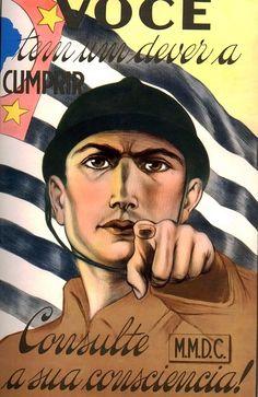 Brazilian  political  propaganda poster