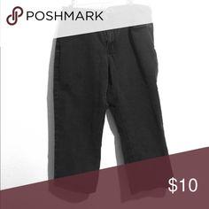 Selling this High waisted black Capri pants on Poshmark! My username is: viclizrod. #shopmycloset #poshmark #fashion #shopping #style #forsale #Cato #Pants