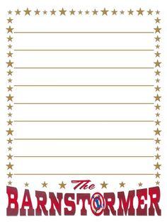 Journal Card - Barnstormer - Lines - 3x4 Photo by pixiesprite | Photobucket