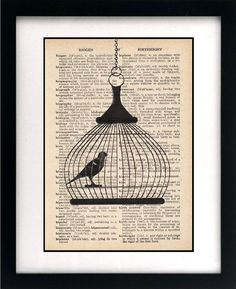 bird cage print {just another one}