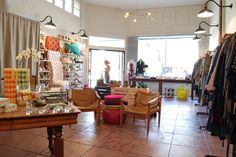 We love our neighbors - go to Melissa at Lake for beautiful classics and of course, Isabel Marant.