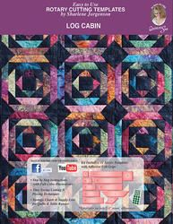 This Log Cabin Template Set includes a full color instruction book, convenient acrylic cutting templates and detailed pictures for creating your own quilts. Log Cabin Quilt Pattern, Log Cabin Quilts, Pineapple Quilt Pattern, Crown Royal Quilt, Log Cabin Designs, Batik Quilts, Colorful Quilts, Book Quilt, Hot Pads