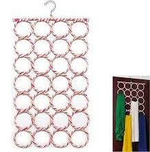 28-hole Ring Scarf Hanger Organizer Organize your closet and get those items where you can see them.  Wraps Shawl's Scarves Belts  FREE SHIPPING ON FRIDAY 11/13 USE COUPON CODE JSFREESHIP