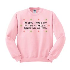 VCR Cookies Crewneck Sweater Elf Movie Quote by DaintyDirtbags