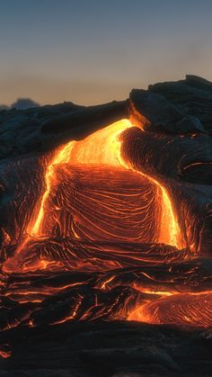Shop Kilauea Lava Flow Hawaii Volcano Eruption 2018 Postcard created by Aadam_Photography. Nature Pictures, Cool Pictures, Volcano Pictures, Powerful Pictures, Hawaii Volcano, Lava Flow, Picture Postcards, Nature Photography, Photography Lighting