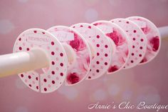 Rose Closet Dividers Baby Closet Dividers by AnniesChicBowtique