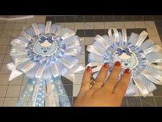 Pink Baby Shower Corsage DIY ( Do It Yourself) - YouTube