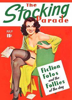 Stocking Parade (1938) Bergey