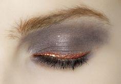 Maquillage métallisé - Cuivre